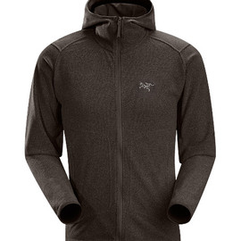Arc'teryx - Caliber Hoody Men's Relaxed fit fleece with casual styling, featuring a lined hood and zippered hand pockets and constructed using a soft-to-the-touch Polartec® micro-fleece textile