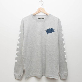 cup and cone - 7 Sheeps L/S - Grey