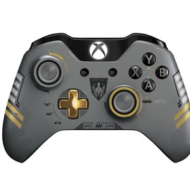 Microsoft - Xbox One Wireless Controller: Call of Duty: Advanced Warfare - Limited Edition