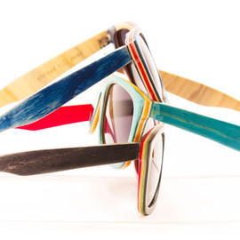 Proof - Sunglasses made from skateboard