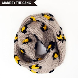 WOOL AND THE GANG - 【PLAYIN' AROUND SCARF】 knit / snood