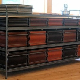 Jim Zivic - Credenza with Bins