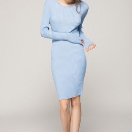 Front row shop - Knitted tight dress