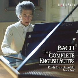 Edith Picht-Axenfeld - Bach: The Complete English Suites
