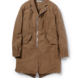 nonnative - TRAVELER COAT COTTON URETHANE COATED