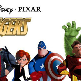 Disney・PIXAR - THE AVENGERS