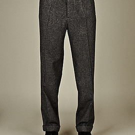 maison martin margiela - MEN'S TIE WAIST FORMAL TROUSER