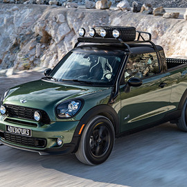 BMW - Mini Paceman Adventure tiny truck