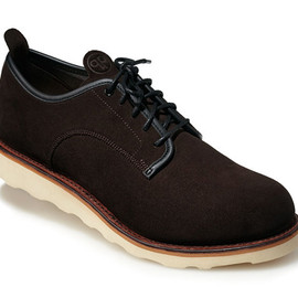 Quoc Pham - Derby - Brown Suede