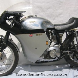 BSA - GOLD STAR FACTORY RACER 1957