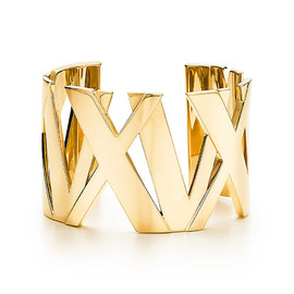 Tiffany & Co. - Atlas® wide cuff 18K gold