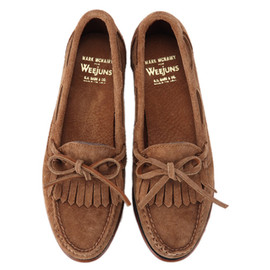 MARK MCNAIRY FOR BASS WEEJUNS - Suede Tassel Loafer