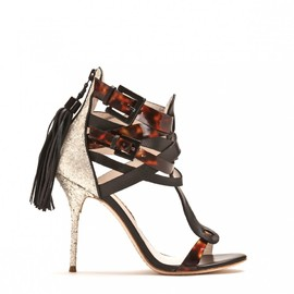 SOPHIA WEBSTER - CASSIDY LEATHER STRAP DETAIL SANDAL