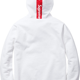 Supreme - Logo Tape Zip Up