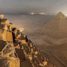 Cairo, Egypt - Best seat in the world