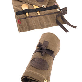 Frost River - Waxed Canvas Utensil Roll