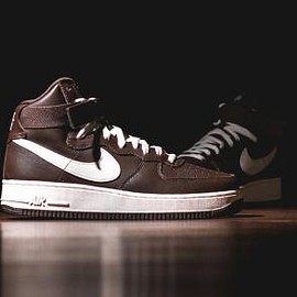 NIKE - NIKE AIR FORCE 1 HIGH RETRO QS CHOCOLATE/SAIL