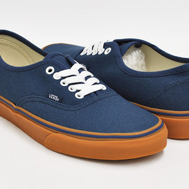 VANS - VANS AUTHENTIC  (GUMSOLE) DARK DENIM