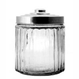 DULTON - Glass Canister Stainless Lid (Size S)