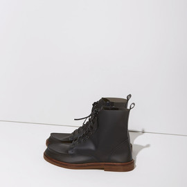 MM6 - Lace-Up Rain Boot