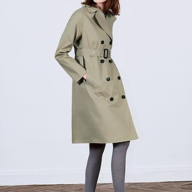 MACKINTOSH - TRENCH COAT WITH DET.LINER
