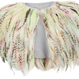 Kate Moss Topshop - Feather Cape