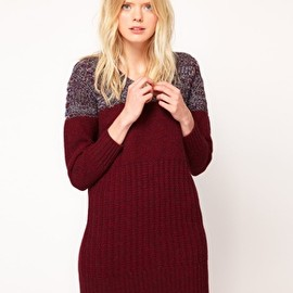 See by Chloe - Image 1 of See by Chloe Knitted Dress with Twisted Yarn Panel