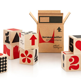 Herman Miller, House Industries - Herman Miller Shipping Blocks