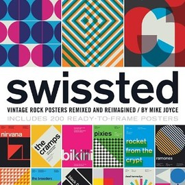 Mike Joyce - swissted  Vintage Rock Posters Remixed and Reimagined