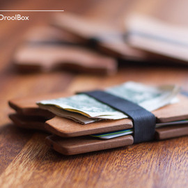 DroolBox - RECLAIMED WOODEN WALLET // TheTwin