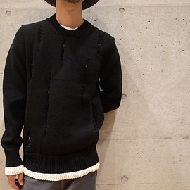 COMME des GARCONS SHIRT - Crash Knit