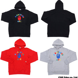 A BATHING APE - MULTI COLLEGE PULLOVER HOODIE