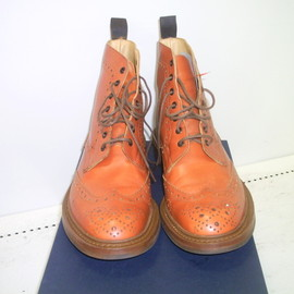 Tricker's / PAUL SMITH - WINGTIP LACEUP BOOT