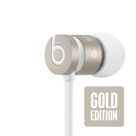 Beats By Dr.Dre - Gold Edition earbuds, iphone 5s