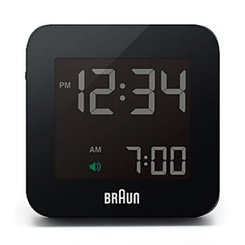 BRAUN - Global Radio Controlled Digital Alarm Clock (BNC009)