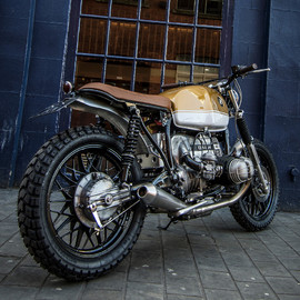 Down and out cafe racers - BMW R80 Scrambler