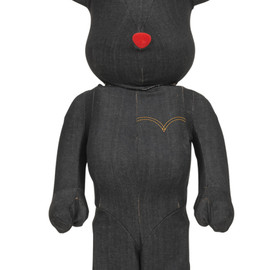 BE@RBRICK - BE@RBRICK Levi's(R) BLACK DENIM 1000%