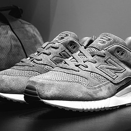 Reigning Champ, New Balance - M530 (Gym Pack) - Grey/White