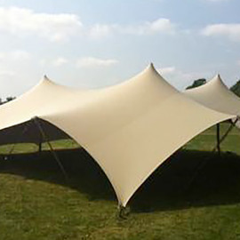 canvasCamp - Flex Tent 6.5×6.5m + Poles set