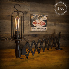 Vintage Industrial Western Electric Dental  Lamp
