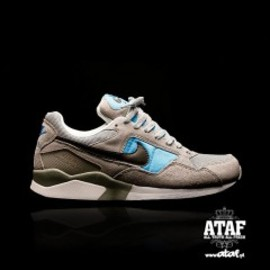 Nike - Air Pegasus '92- Wolf Grey/Deep Smolder/Blue Hero