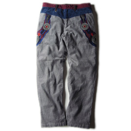 ALDIES - Cord Decoration Pants