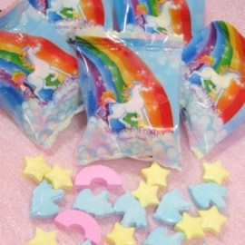 """UNICORN & STAR & RAINBOW"" RAMUNE 5袋set"