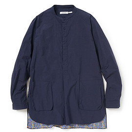 nonnative - PAINTER PULLOVER LONG SHIRT COTTON TYPEWRITER