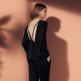 Issa - Issa Sally Open-back Jersey Top