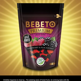 Kervan - Bebeto Premium (Raspberry and Blackberry)