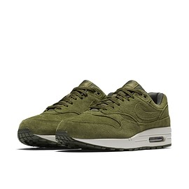 NIKE - Air Max 1 - Olive Canvas/Olive Canvas/Sequoia