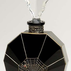Spider and Web perfume bottle. - Spider and Web perfume bottle.