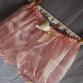 Milky Strawberry Sheer Lolita Bloomers