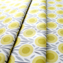 Cloud9 Fabric - House & Garden 111608 Flower Bed in Yellow
